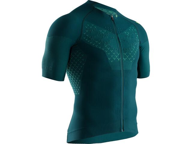 X-Bionic Twyce G2 Bike Zip Jersey SS Men, pine green/amazonas green